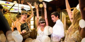 The Great Gatsby themed parties feature on P&O Cruises.