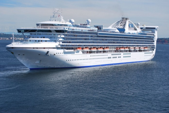 Golden Princess is mid-way through its second summer based in Melbourne and is showing no sign of leaving.