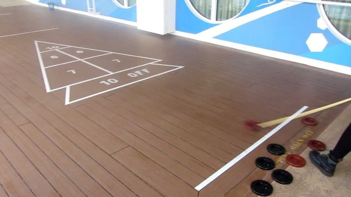 Shuffleboard is a classic retro cruise game and is coming back to Carnival Cruise Line.