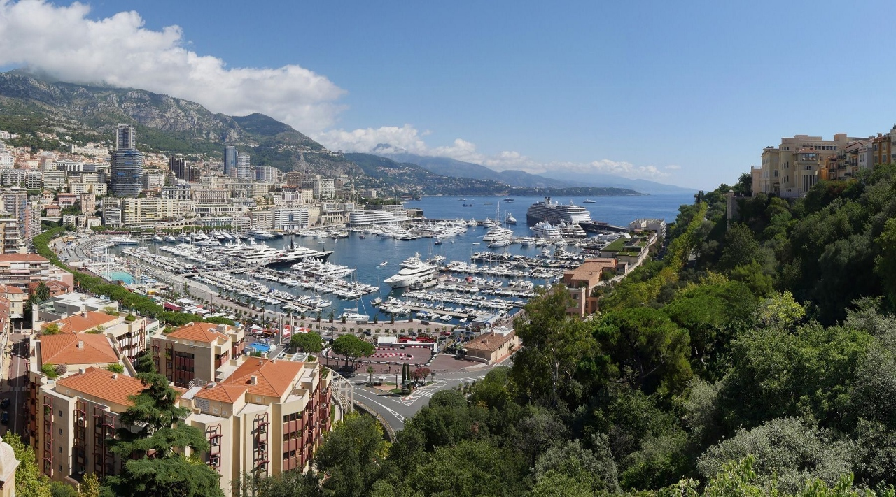Plenty of cruise ships find their way to Monaco for the Formula 1 Grand Prix.