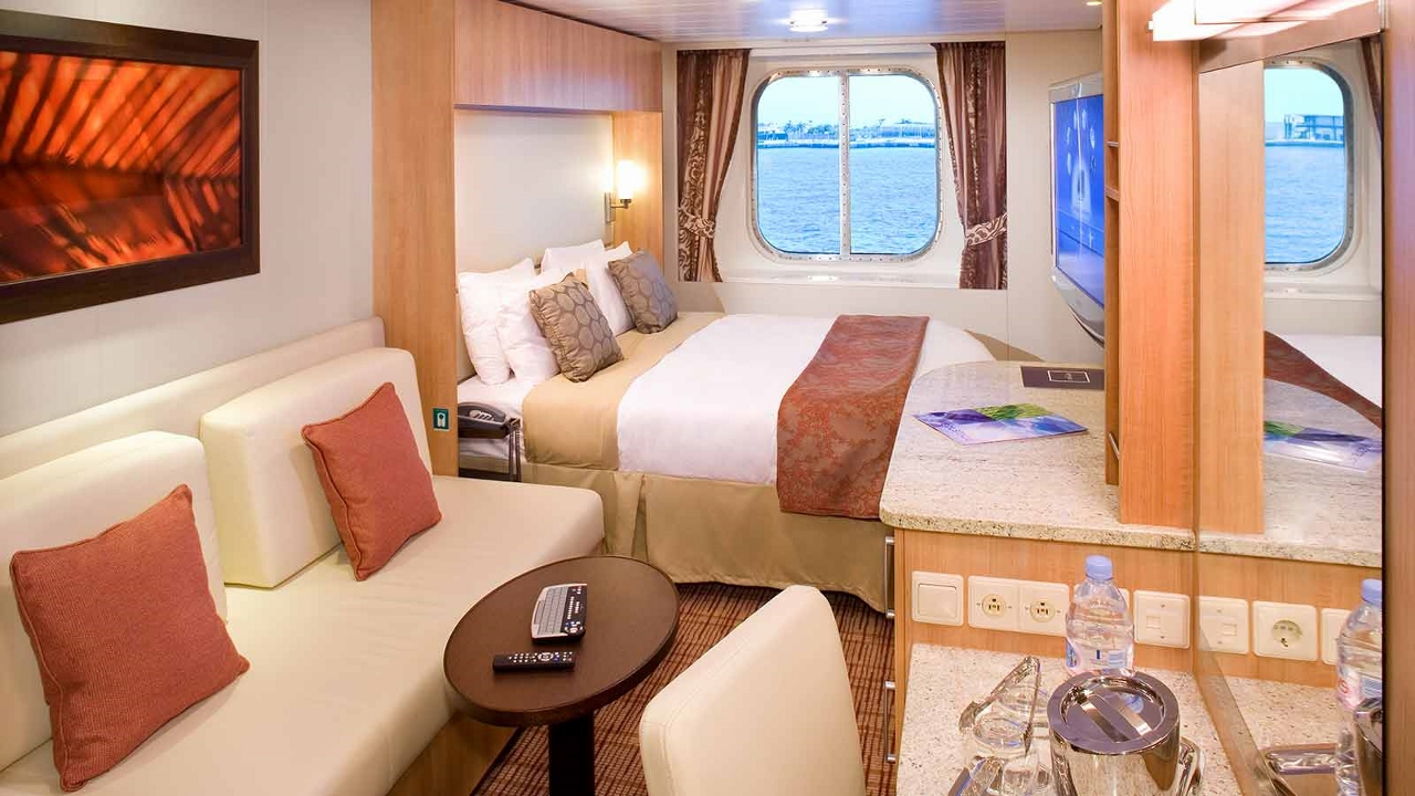 Oceanview Staterooms on Celebrity Solstice.
