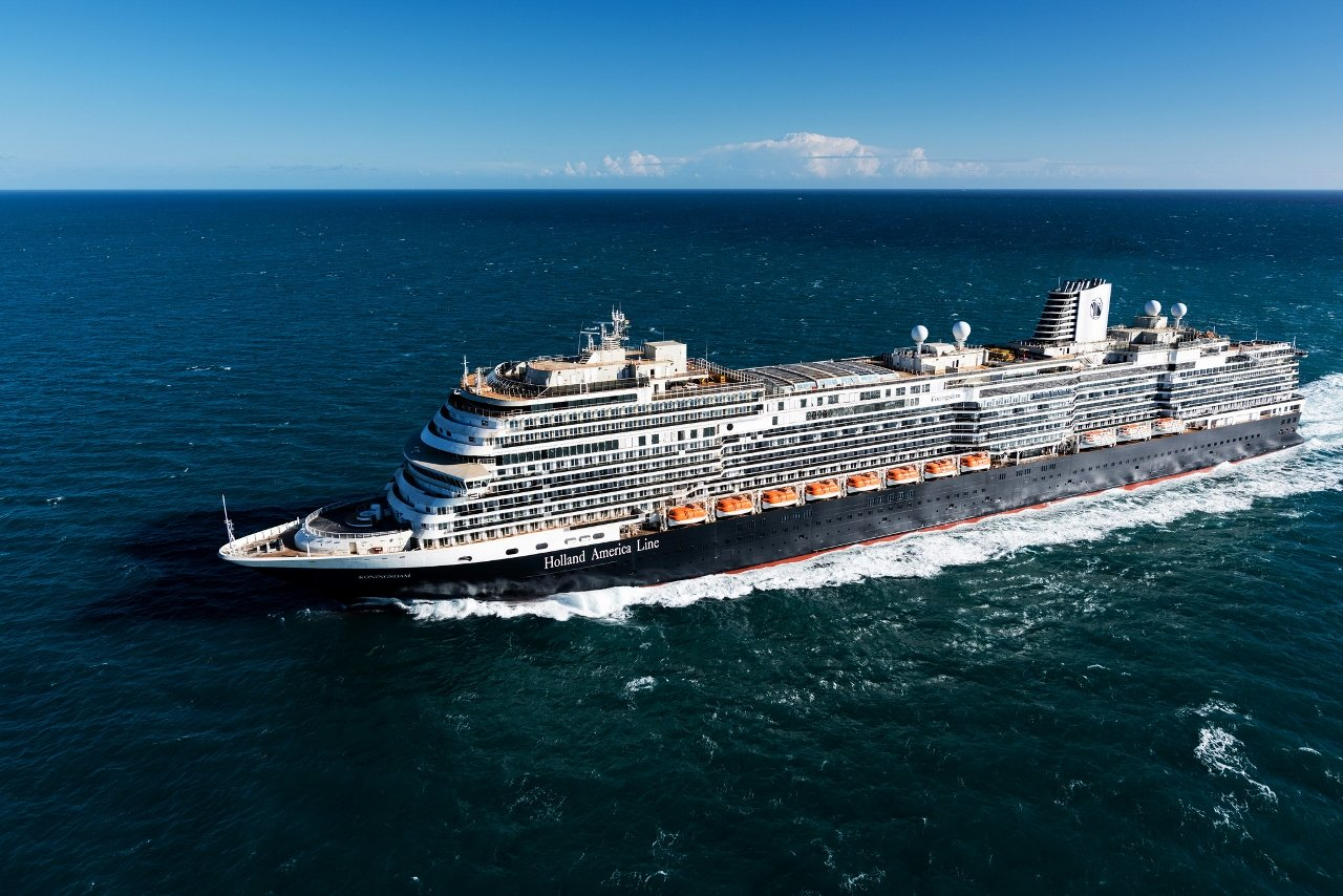 MS Koningsdam is the newest addition to the Holland America Line fleet.