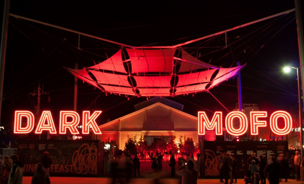 P&O Cruises will sail to the Dark Mofo Festival in Hobart.
