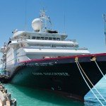 Silversea Expeditions ship Silver Discoverer.
