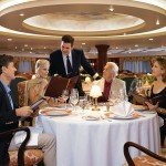 The Grand Dining Room on Oceania Insignia.