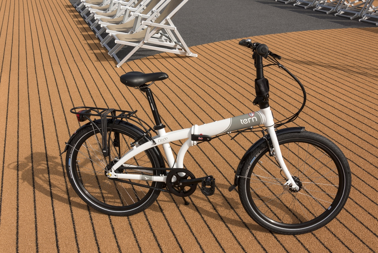 Avalon Waterways has added Tern bicycles to its ships. q