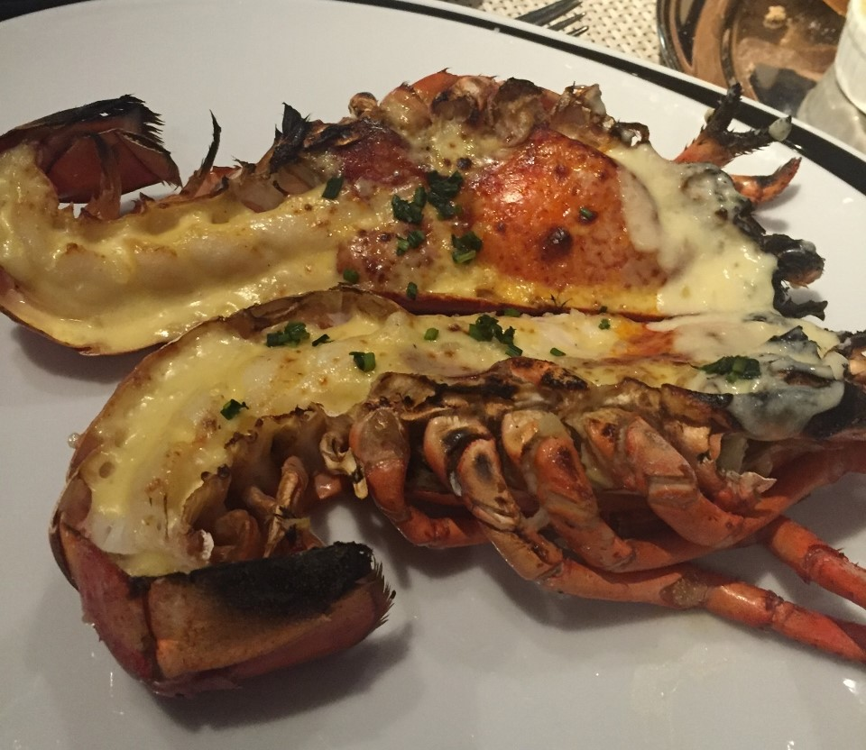 Chops Grille offers Roasted Maine Lobster on its menu.