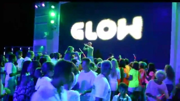 The Glow Party on Norwegian Cruise Line.