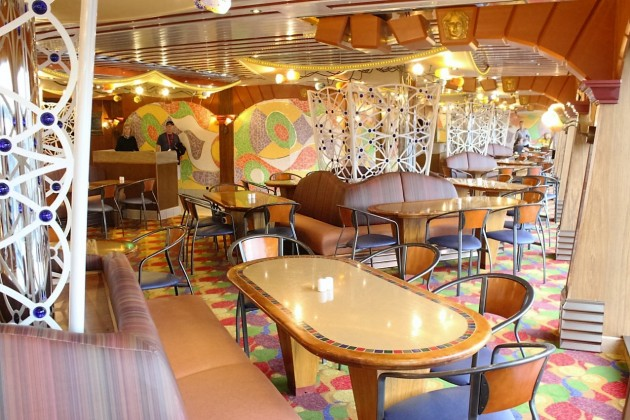 The Lido Restaurant is essentially the ship's buffet.