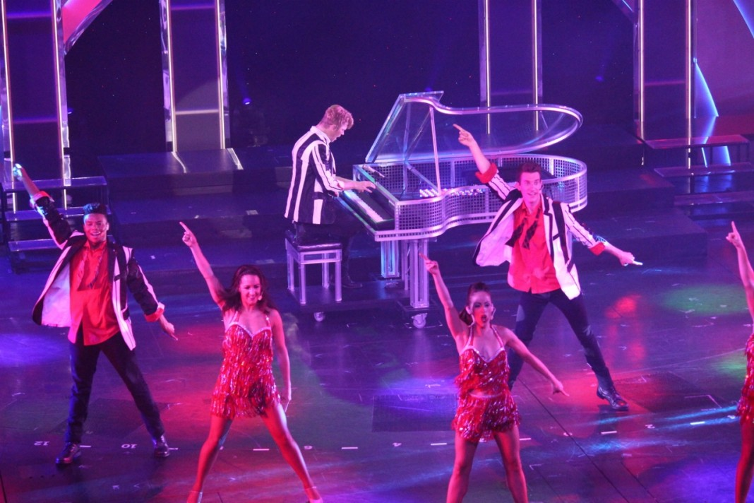 Carnival Spirit's Playlist Productions delivers a great show in 88 Keys.