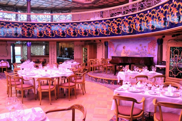 Carnival's Nouveau Steakhouse is a great option to celebrate a special occasion.