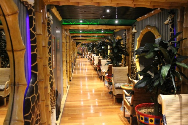 Jungle Room features on Carnival Spirit as part of Circle C.