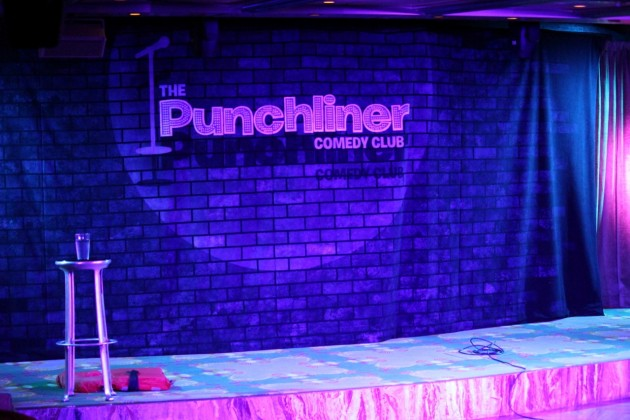 The Punchliner Comedy Club features on Carnival Spirit.