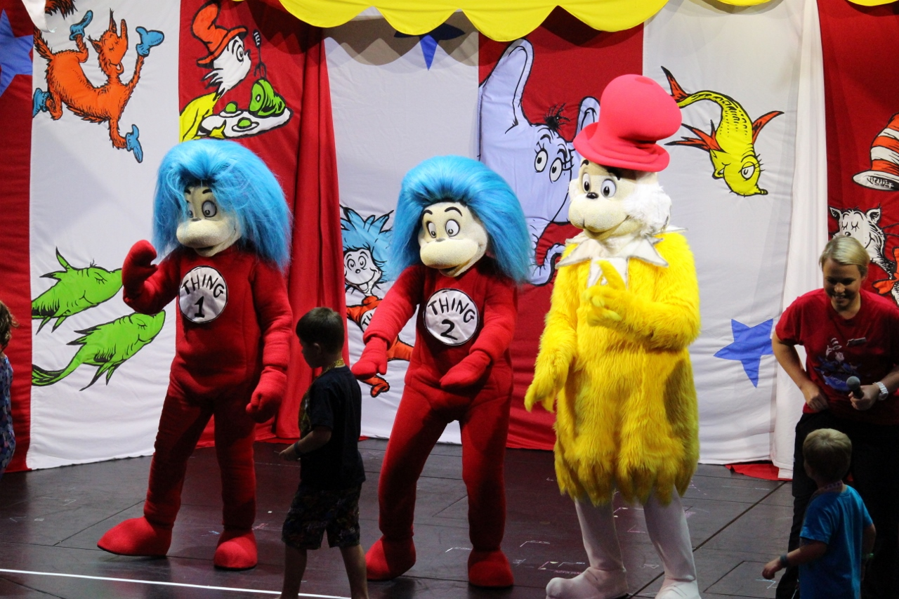 The whimsical characters of Dr Seuss transcends generations and are instantly recognisable by all ages.