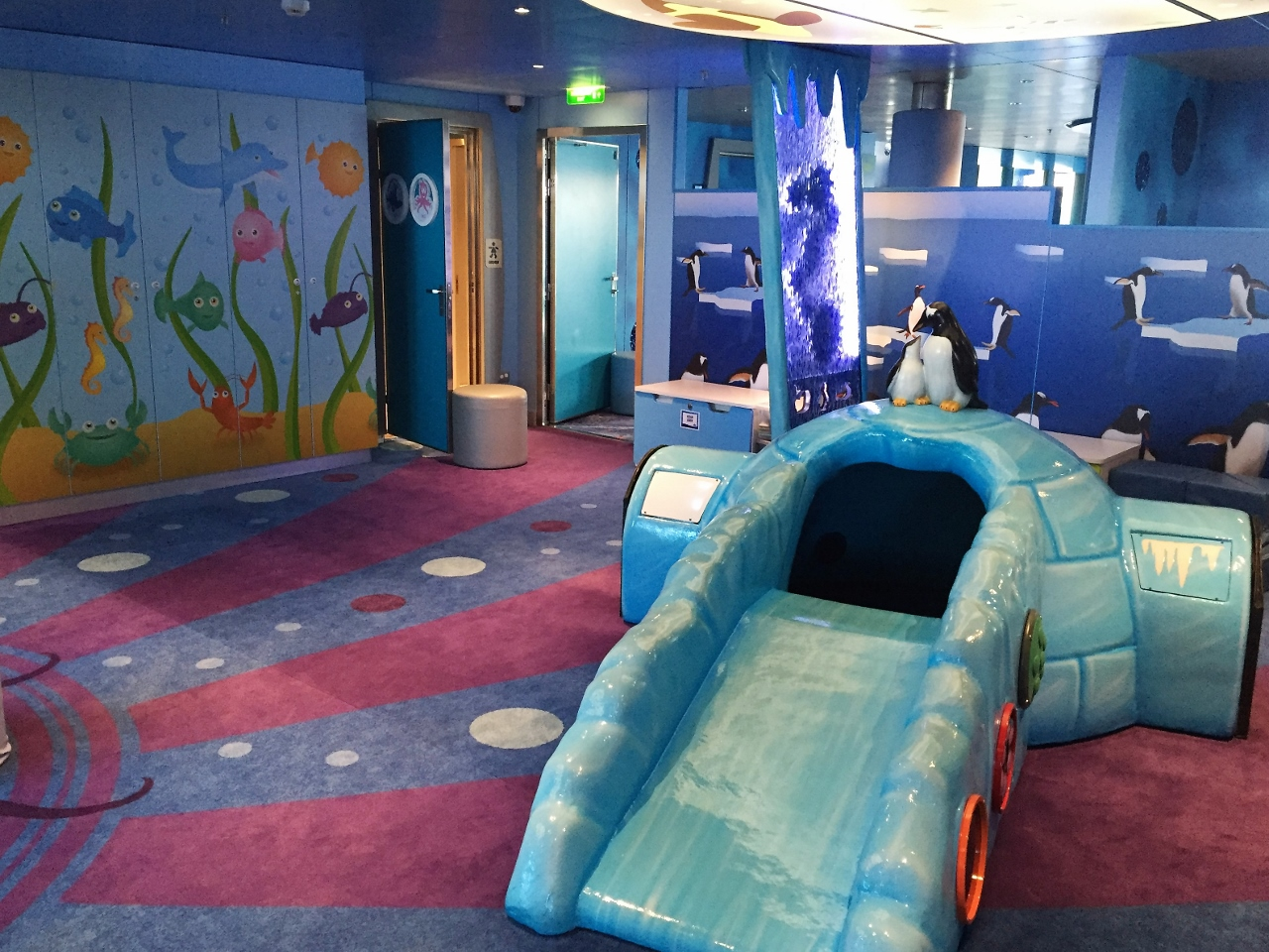 Children can bring out their inner aquatic character in Camp Ocean on Carnival Spirit.