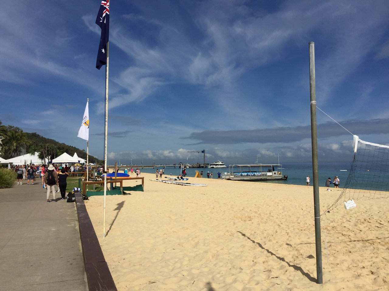 Moreton Island offers plenty of entertainment to keep you busy during your cruise shore day.
