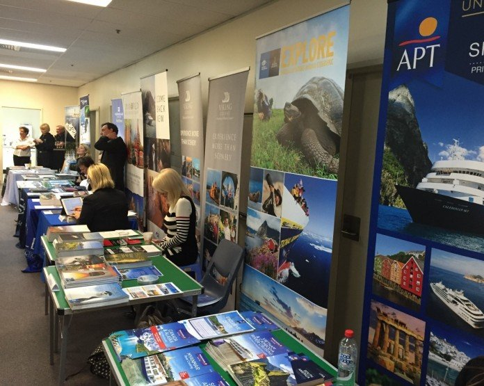 Exclusive cruise deals can be obtained from a travel agent expo.