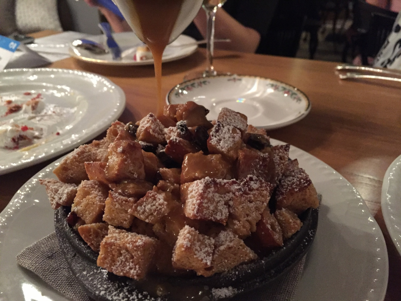 The Bread & Butter Pudding from SHARE by Curtis Stone.