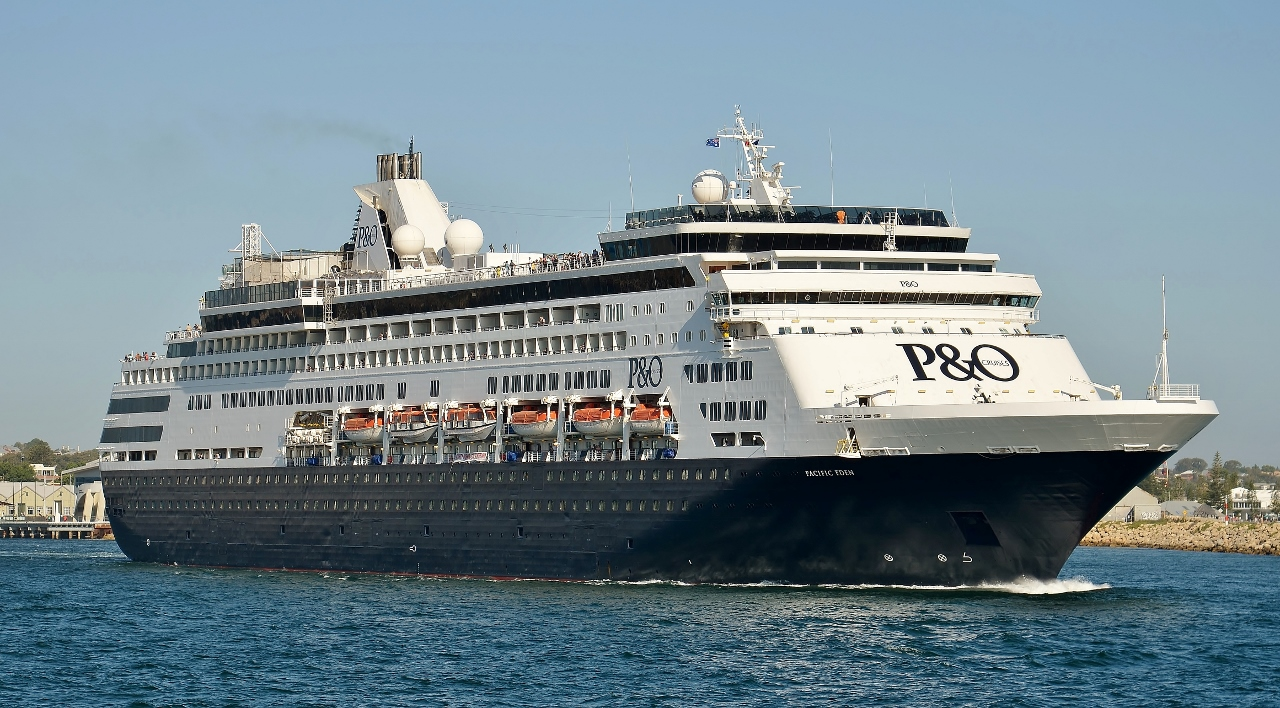 P&O Cruises runs voyages from the Perth port of Fremantle.
