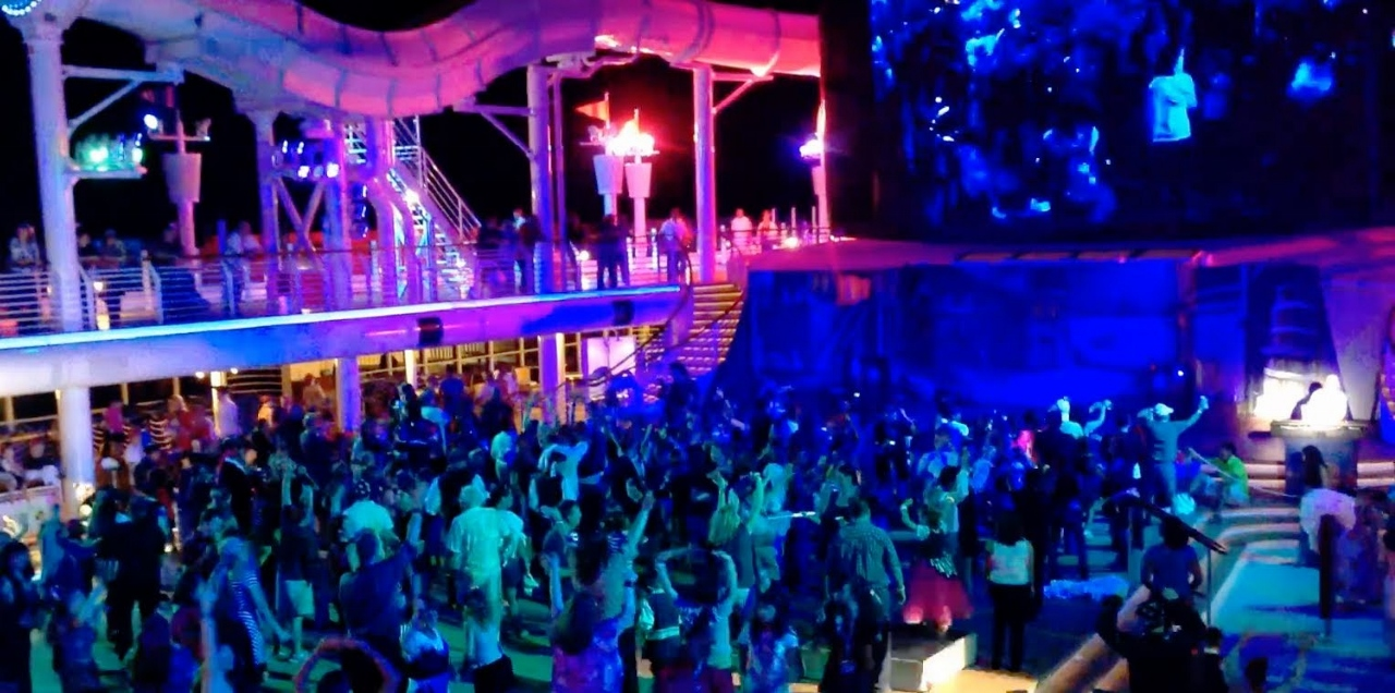 Disney Cruise Line hosts a Pirate night on its cruises.