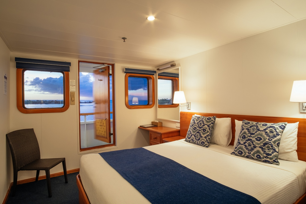 The MV Reef Endeavour has been recently refurbished.