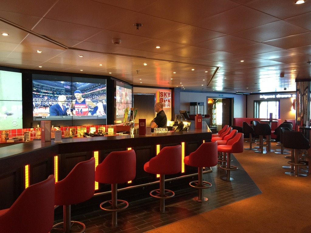 If you love your sport, there is always a great game on in the SkyBox Sports Bar.