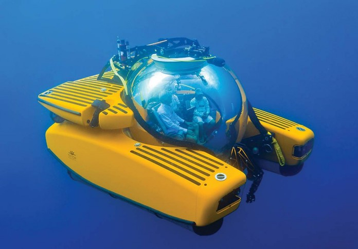 Underwater exploration will soon be possible on big ship cruising.