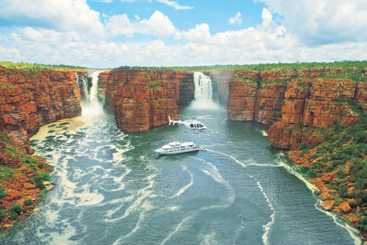 True North operates its own itineraries in the Kimberley.