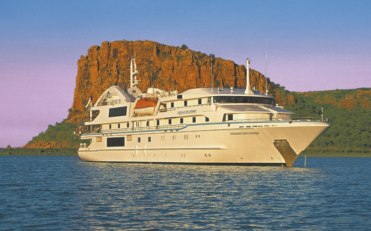Coral Discoverer generally sails the Kimberley in dry season between April and October.