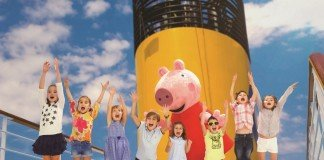 Costa Cruises is developing a Peppa Pig themed land for kids to enjoy.