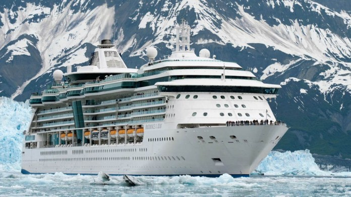 Royal Caribbean's Explorer of the Seas is one ship which cruises Alaska.