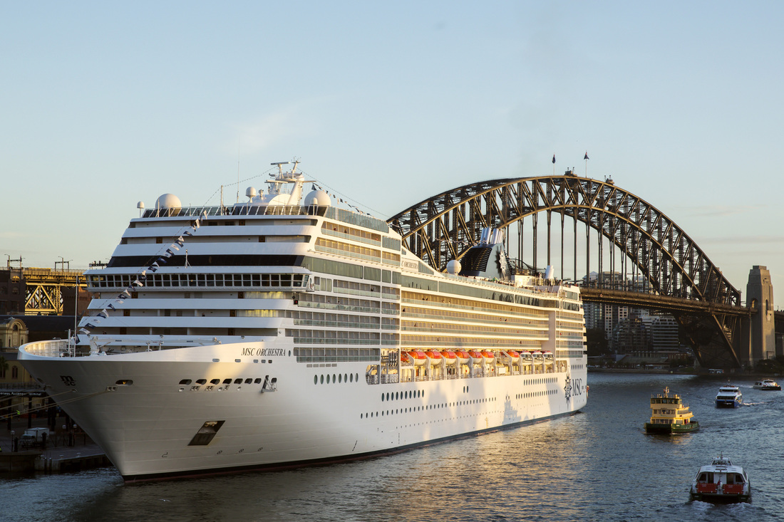MSC Cruises is booked to return to Sydney Harbour in 2018.