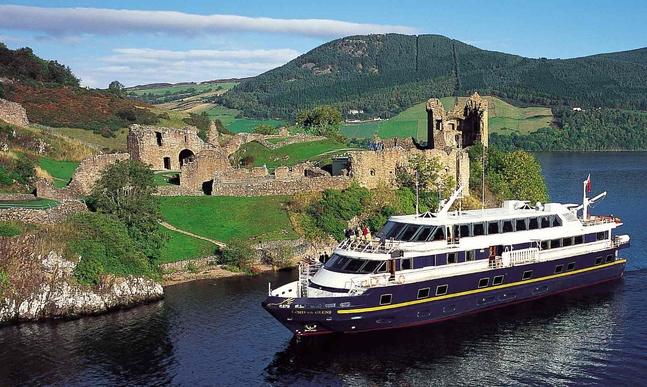 Lindblad Expeditions utilises the Lord of the Glens in Scotland.
