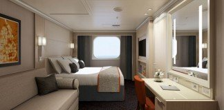 What extra storage spaces does your stateroom offer?