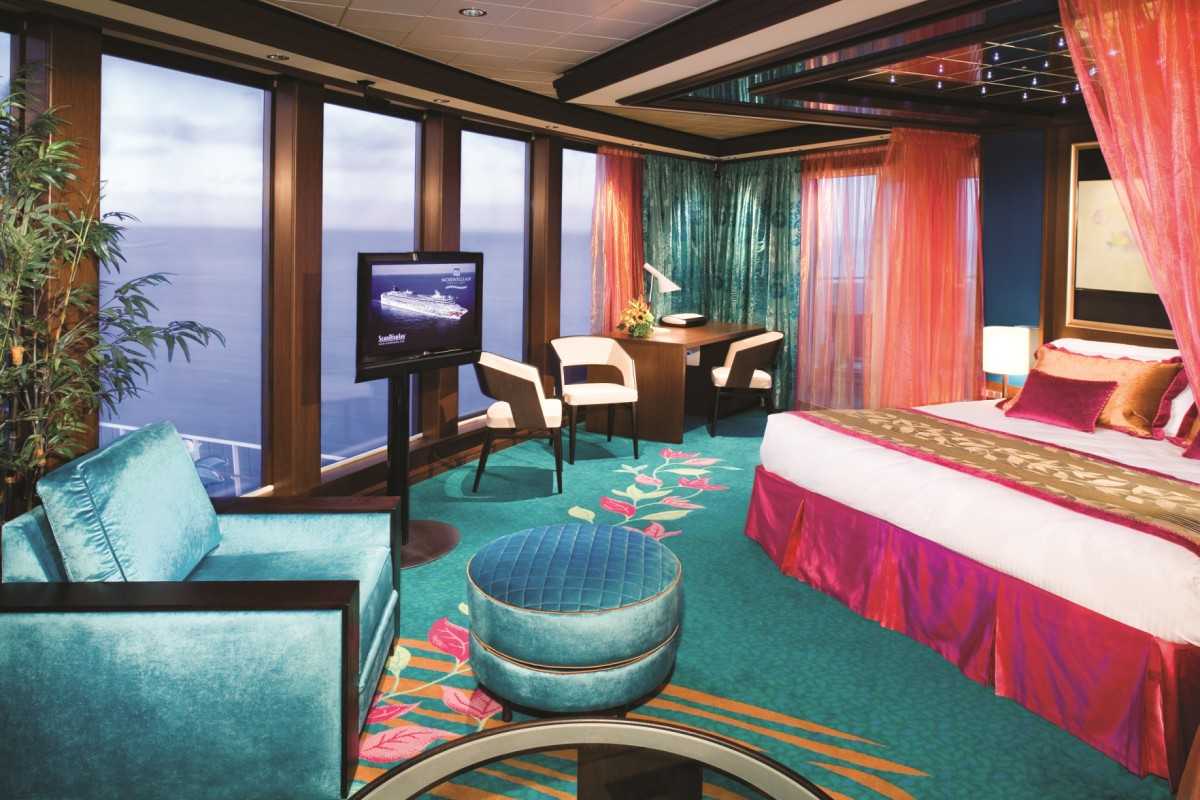 Norwegian Cruise Line prides itself on a range of different options for a range of budgets and styles.