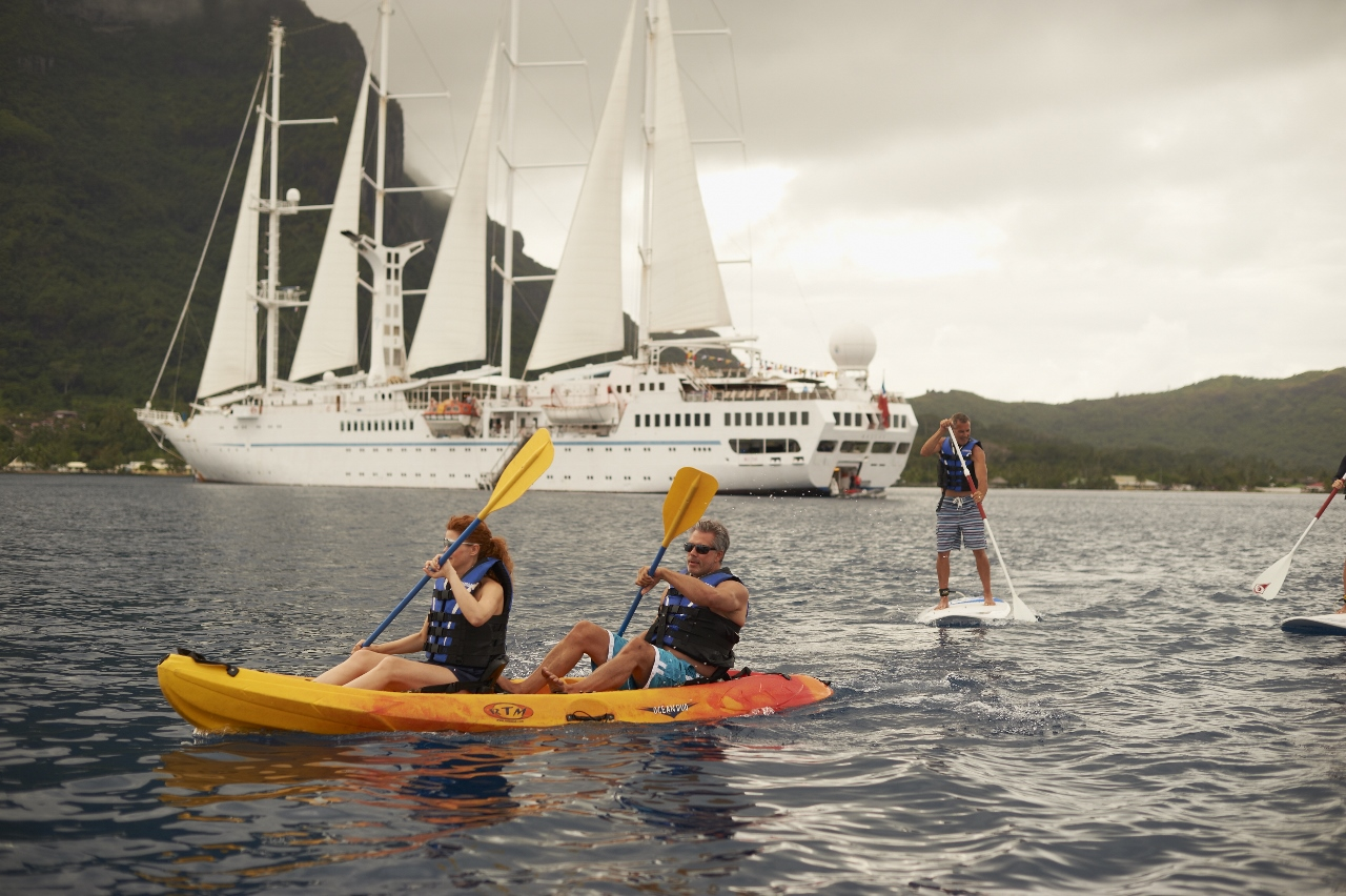 If you're so inclined, water sports activities are available on Windstar Cruises in port if you don't wish to wander onshore.