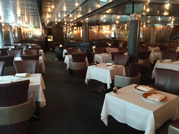 A look at the Pinnacle Grill onboard Holland America Line's MS Nieuw Amsterdam.