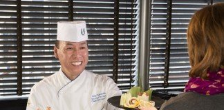 Sushi Chef Andy Matsuda is bringing his creations onboard Holland America Line.