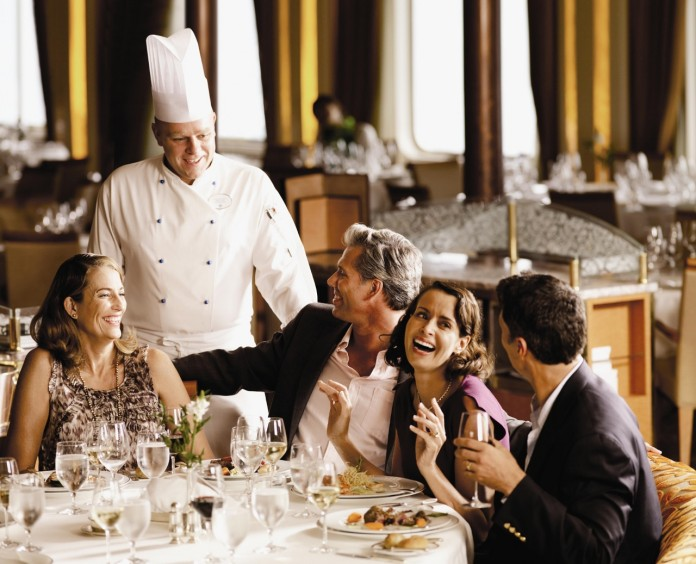 Some cruise lines offer a signature dish you can enjoy.