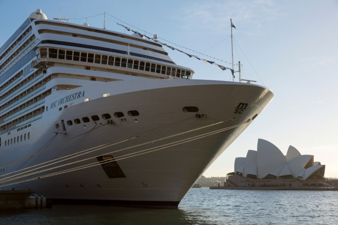 Is MSC Cruises on its way back to Sydney?