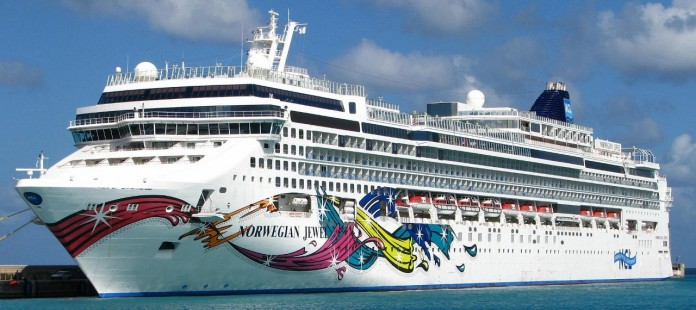Norwegian Jewel has just been fitted with scrubber technology ahead of its deployment to Australia.