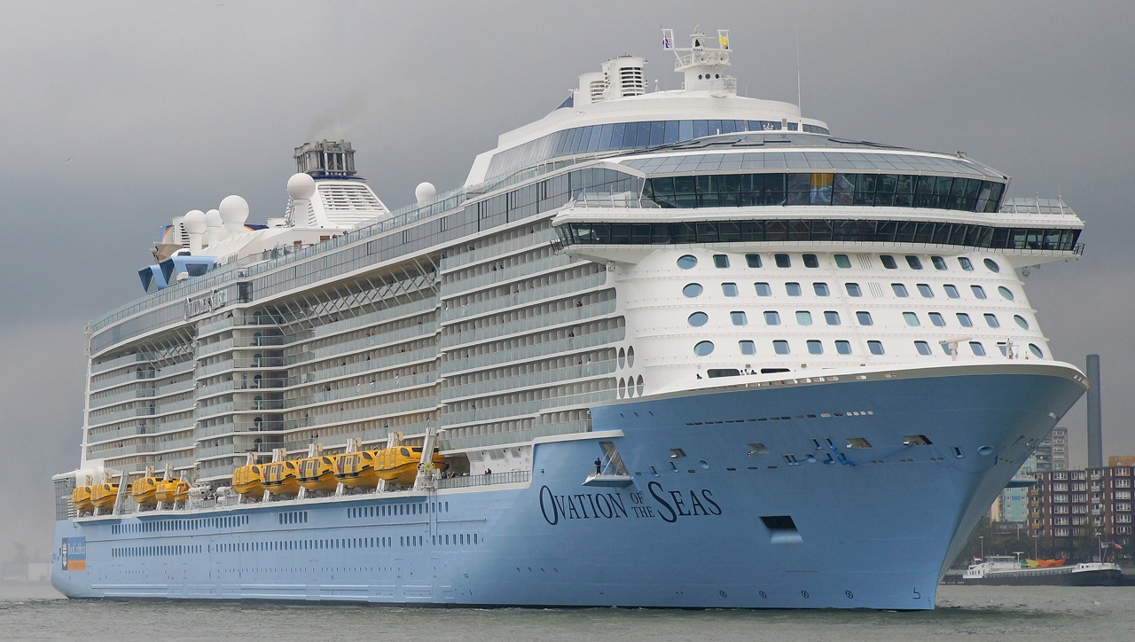 Royal Caribbean's new megaship Ovation of the Seas will draw big crowds during a two-month stay in Singapore.