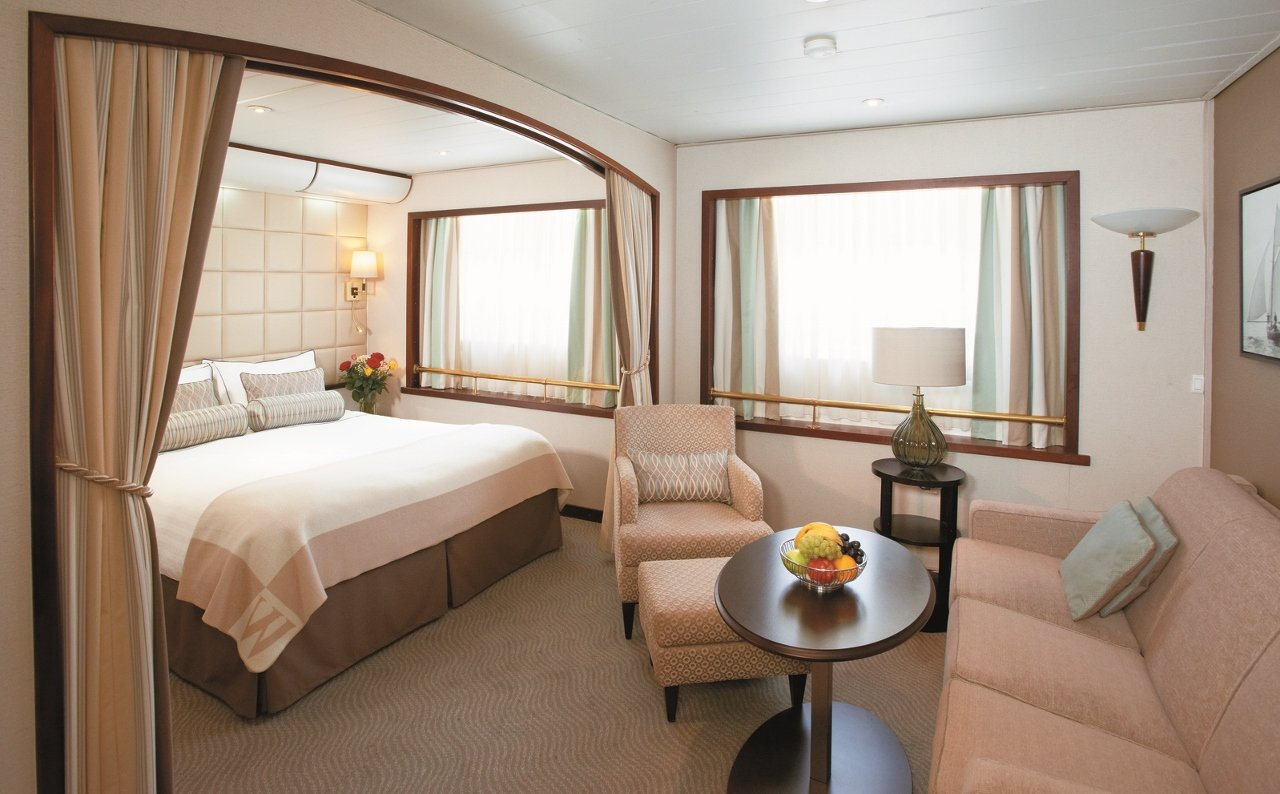 Windstar Cruises features the Wind Surf Suite.