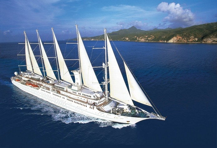 Wind Surf, one of Windstar Cruises masted yachts.