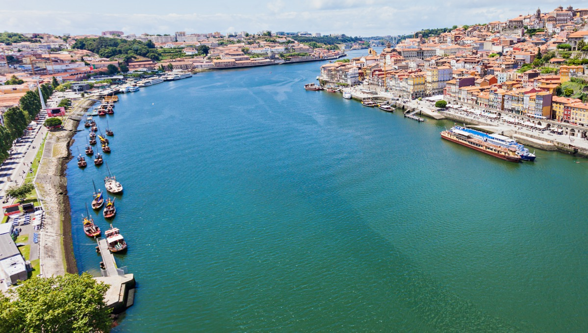 The Douro River in Europe is popular with river cruising.