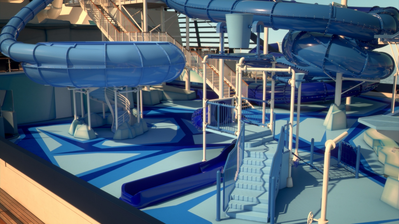 MSC for Me will allow you to locate your kids anywhere onboard if they happen to sneak off to the water park.