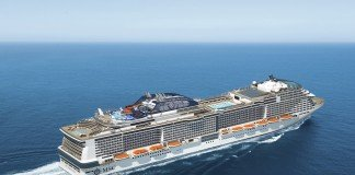 A rendering of how both MSC Meraviglia and MSC Bellissima will look.
