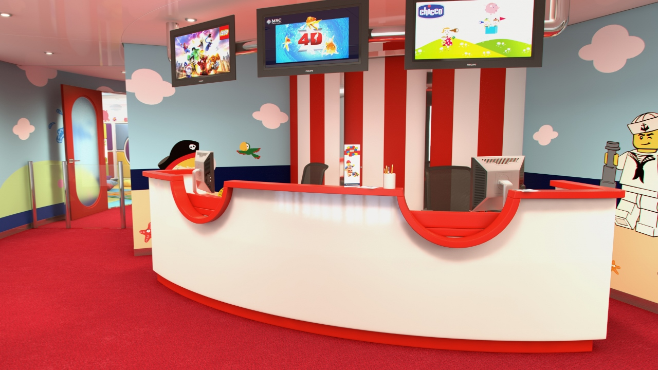 Kids will be excited right from the reception area, let alone the wonders which lie inside.