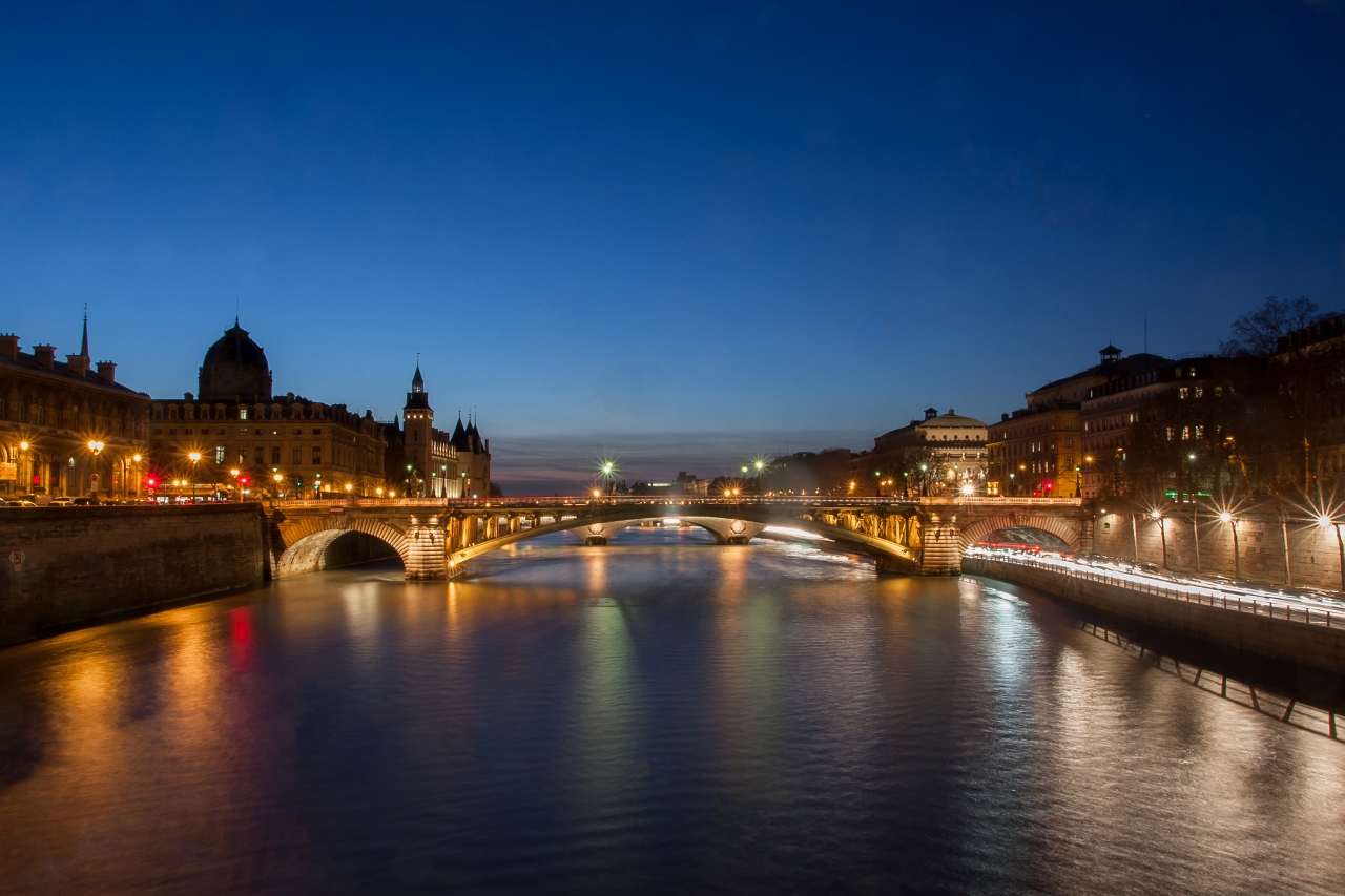 The Seine River in Europe is popular with river cruising.