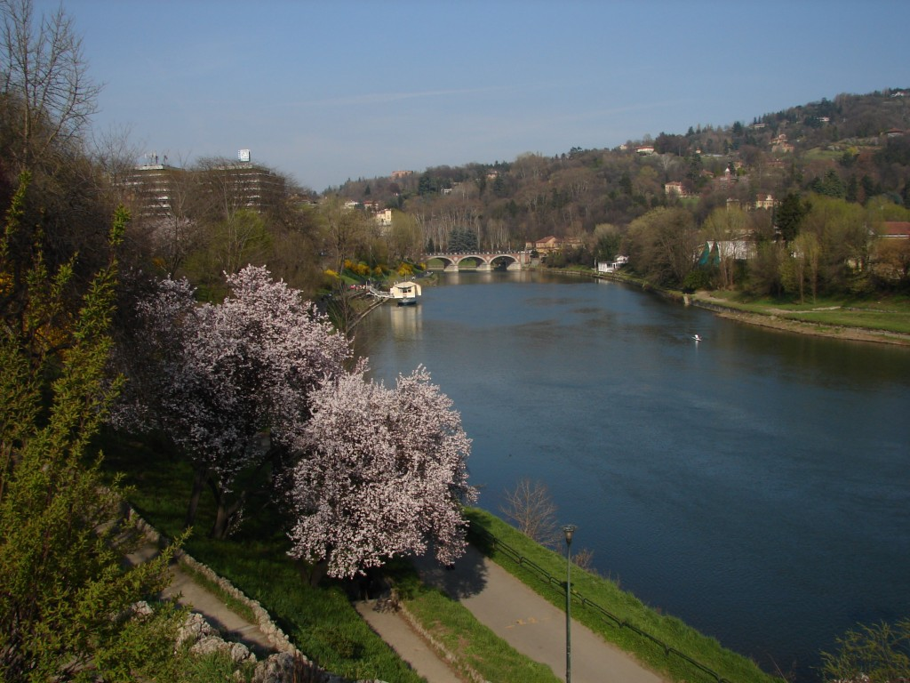 The Po River in Europe is popular with river cruising.